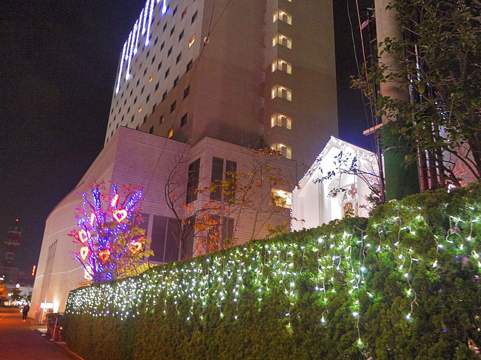 クリスマス・イルミネーション・スポット