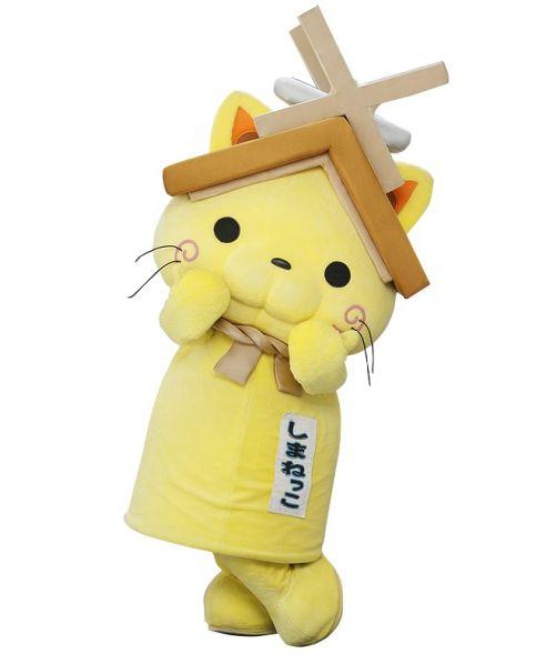 島根県観光キャラクター「しまねっこ」がリム・ふくやまにやってくる!