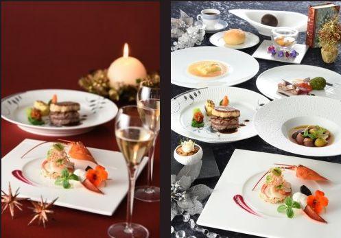 「福山ニューキャッスルホテル」ロジェからクリスマスディナーのご紹介