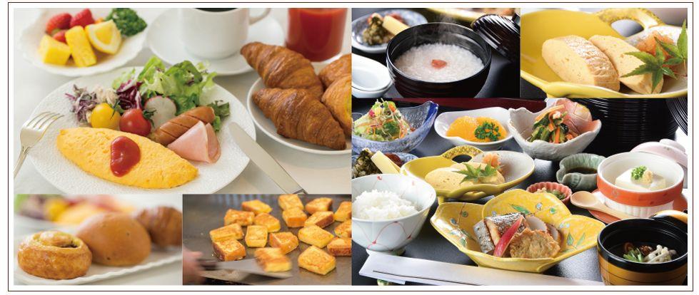 「福山ニューキャッスルホテル」から朝食バイキングのお知らせ