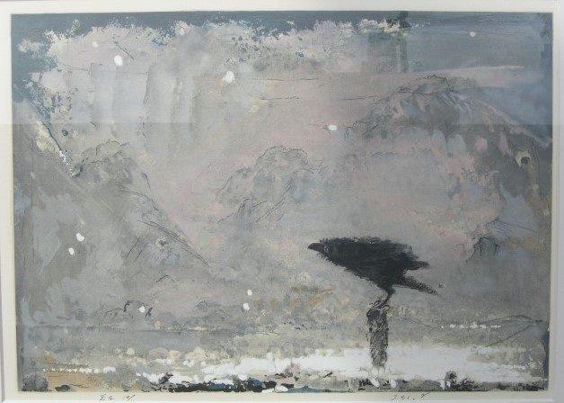 「小山美術」より地元・福山の洋画家、中山一郎先生の作品のご紹介です