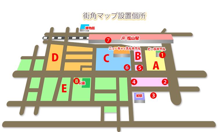 街角マップ設置箇所