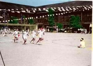 昭和43年 西小学校運動会