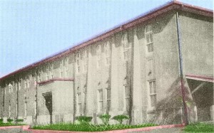 昭和5年 市役所(現在の市役所北側広場あたり)