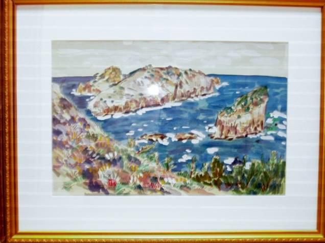 「小山美術」から【 隠岐 白島 】   小林 和作・絵のご紹介