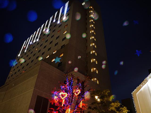 福山駅周辺のクリスマス イルミネーション