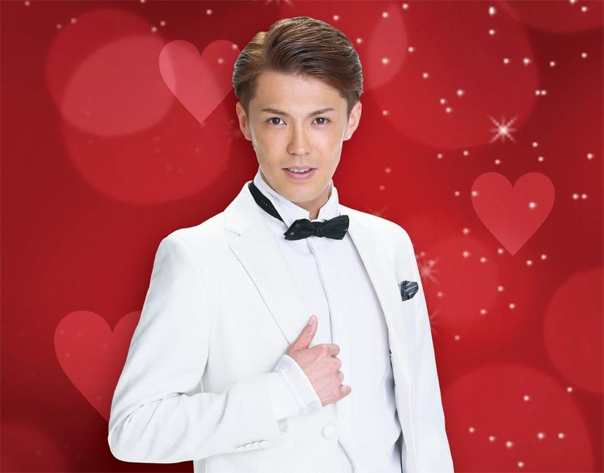 「福山ニューキャッスルホテル」から清水良太郎バレンタインディナーショーのご案内