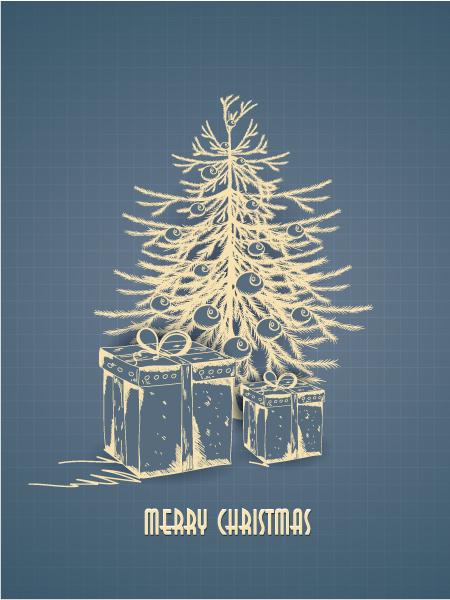 「ブルート」から自由に使えるクリスマスカードのご紹介