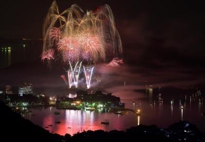 鞆の浦の花火大会がYouTubeからライブ中継されます