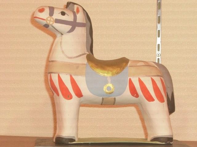 「小山美術」から【 馬 】今城国忠・作(縦、横とも21㎝)のご紹介