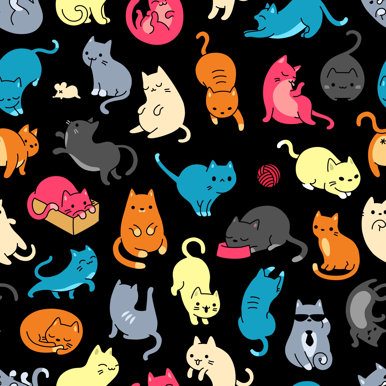 「ブルートウェブサービス」から可愛い猫のアイコンのご紹介