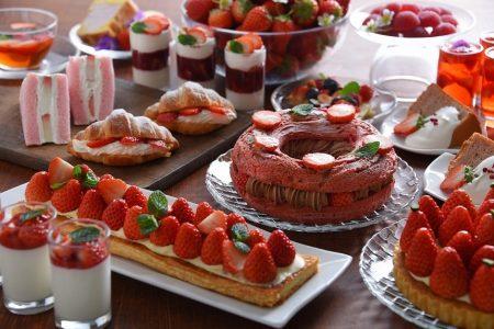 福山ニューキャッスルホテルから春のいちごスイーツビュッフェ「Strawberry Dining」のお知らせ